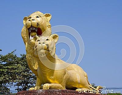 Sihanoukville, Cambodia, famous Lion Statue