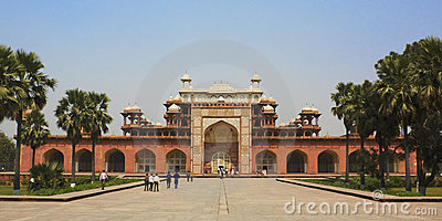 Sikandra, Tomb of Akbar (the great Mughal emperor)