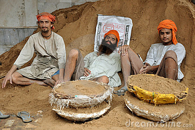 Sikh workers Editorial Image