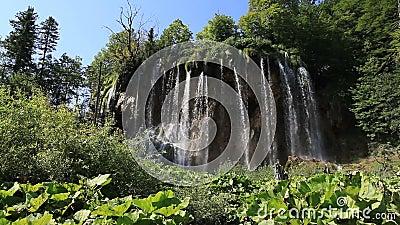 Siklawa w Chorwacja zbiory wideo
