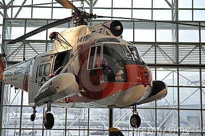 Sikorsky HH-52 Seaguard Helicopter Editorial Image