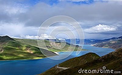 Sikt av tibet