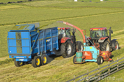 Silage Collection Editorial Image
