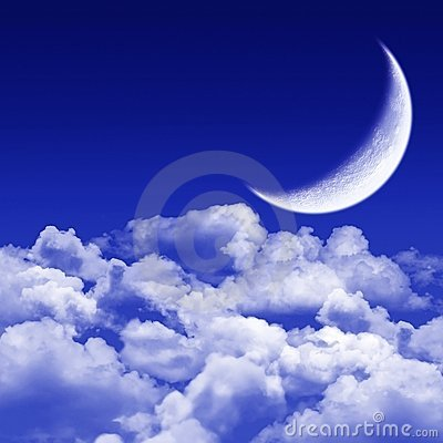 Silent night, moonlit night