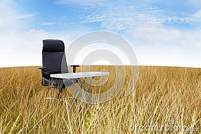 Silent outdoor office