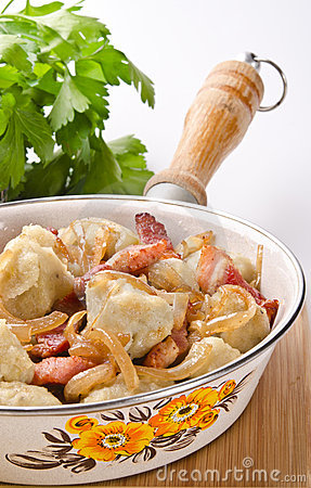 Silesian potato dumplings