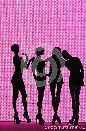 Silhouette 4 women