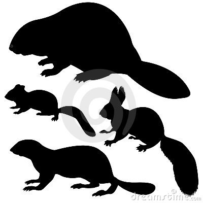 Free Silhouette Animal Stock Images - 6726184
