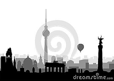 Silhouette of Berlin