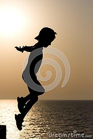 Silhouette Child