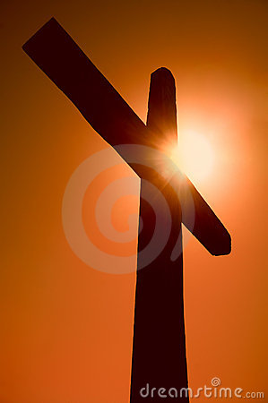 Silhouette of the cross