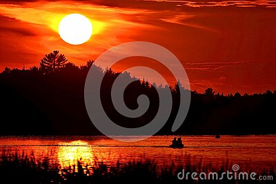 Silhouette Of Mountain Beside Body Of Water Free Public Domain Cc0 Image