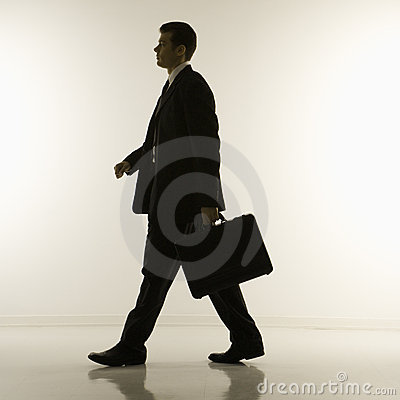 Free Silhouette Of Businessman Royalty Free Stock Image - 2052036