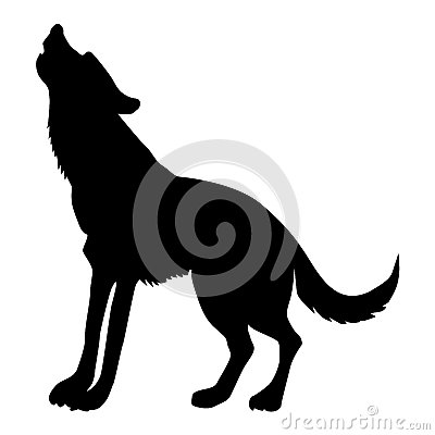 Free Silhouette Of Wolf Royalty Free Stock Image - 92085746