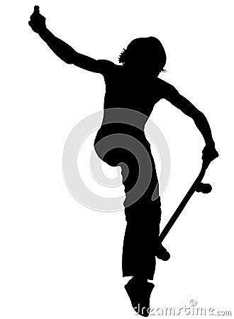Silhouette - Skater