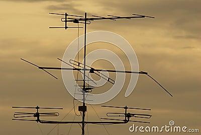 Silhouette TV Antenna