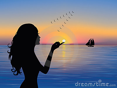 Silhouette _woman.