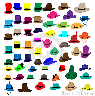 Silhouettes fashion hat