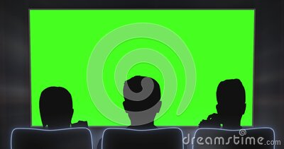 Cinema Interior Of Movie Theatre With Blank Movie Theater Screen With Green Screen And Empty Seats Movie Entertainment Stock Footage Video Of Concert Cinema 142557128