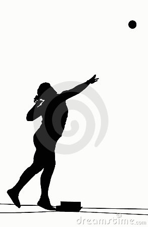 Silhouettes - Shot Put
