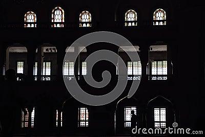Silhouettes windows