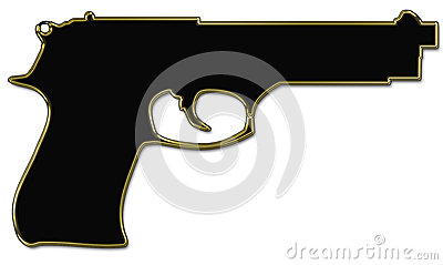 Silhueta da arma