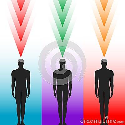 Silhueta do corpo humano