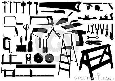 Silhuoette tools