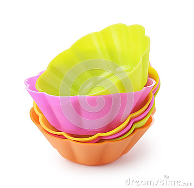 Free Silicone Baking Cups Stock Photos - 57145123