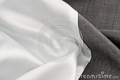 Silk cloth and grey cloth