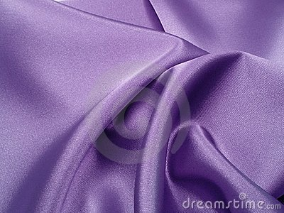 Silk drapery