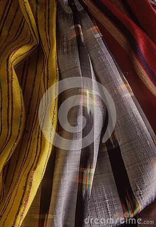 Silk fabrics from Banaras