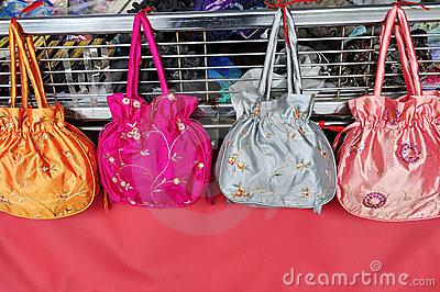 Silk Ladies Bags