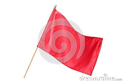 Silk red flag