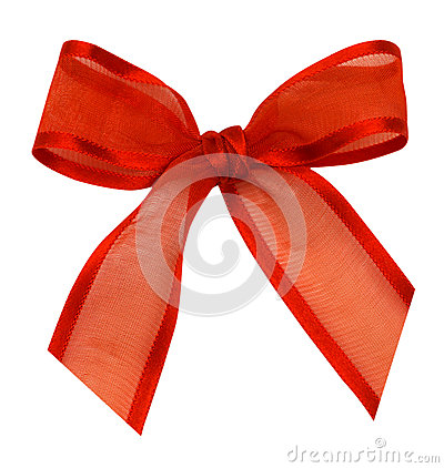 A silk ribbon