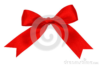 A silk ribbon