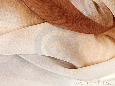 Silk scarf - textile background