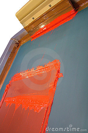 Free Silk Screen Printing Stock Photos - 1421313