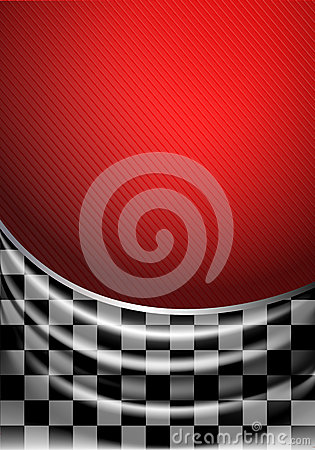 Free Silk Tissue In Checkered On A Red Background Stock Photo - 29755520