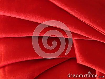 Silky fabric