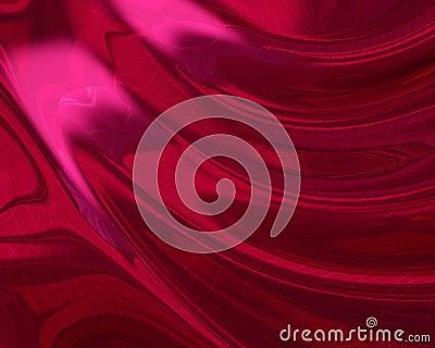 Silky red digital foil