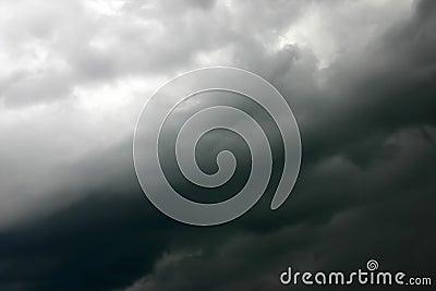 Silky storm sky