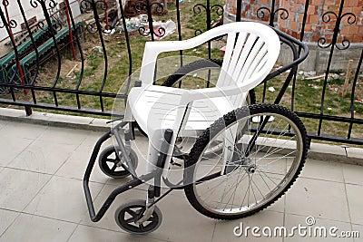 Silla De Rueda Imagen De Archivo Imagen 10647581