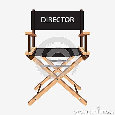 Silla del director de cine silla de madera del director de for Silla de director