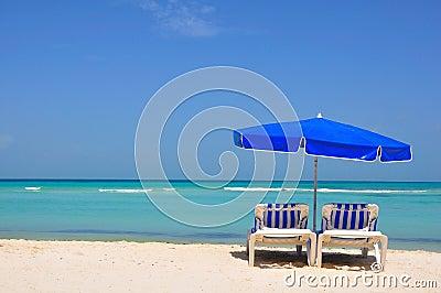 Sillas de playa del Caribe