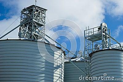 Silo for grain