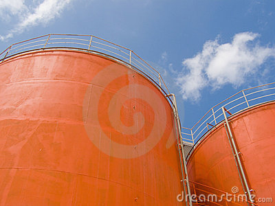 Silo steel tanks