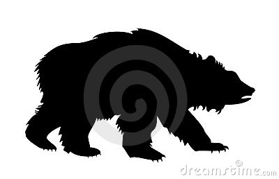 Silueta del oso