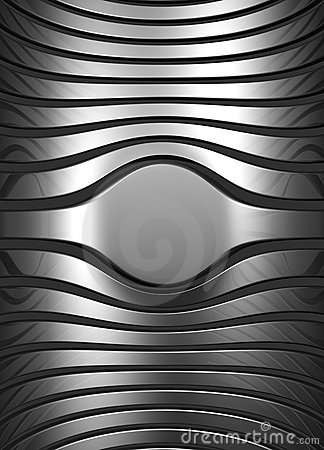 Silver abstract stripe background