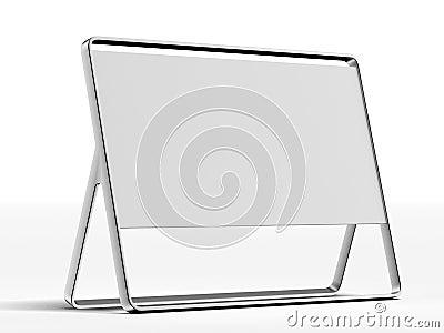 Silver ad plate